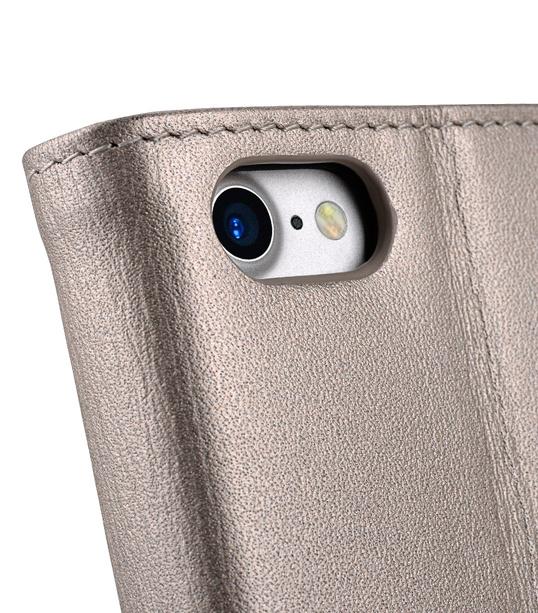 Melkco Fashion Folio Mappe Case for Apple iPhone 7 / 8 (4.7') - (Gold)