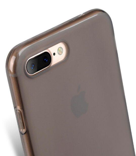 Melkco Poly Jacket TPU Case for Apple iphone 7 Plus - Transparent Black