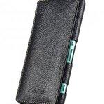 Melkco Premium Leather Case for Sony Xperia Z3 Compact / Z3 Mini- Jacka Type (Black LC)
