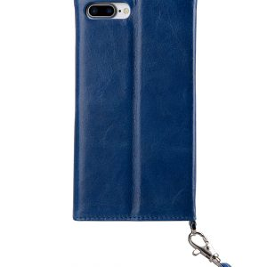 Melkco Fashion Folio Mappe Case for Apple iPhone 7 / 8 Plus(5.5') (Blue)