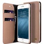 Melkco Fashion Cocktail Series Slim Flip Case for Apple iPhone 7 Plus - (Beige )