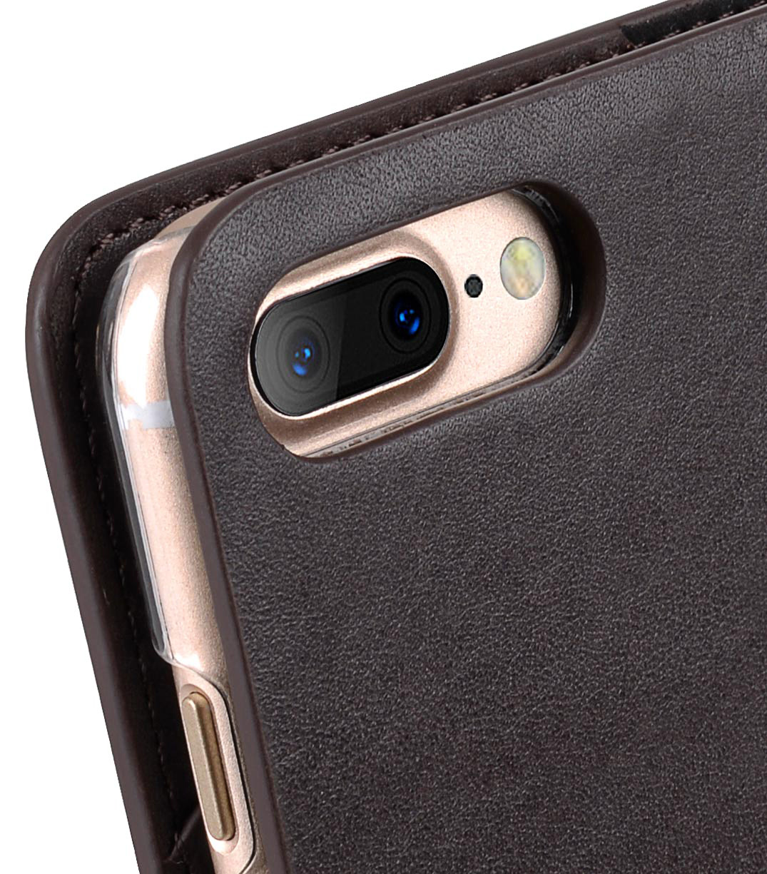 Melkco Fashion Cocktail Series slim Filp Case for Apple iPhone 7 Plus(5.5')(Italian Coffee Brown)