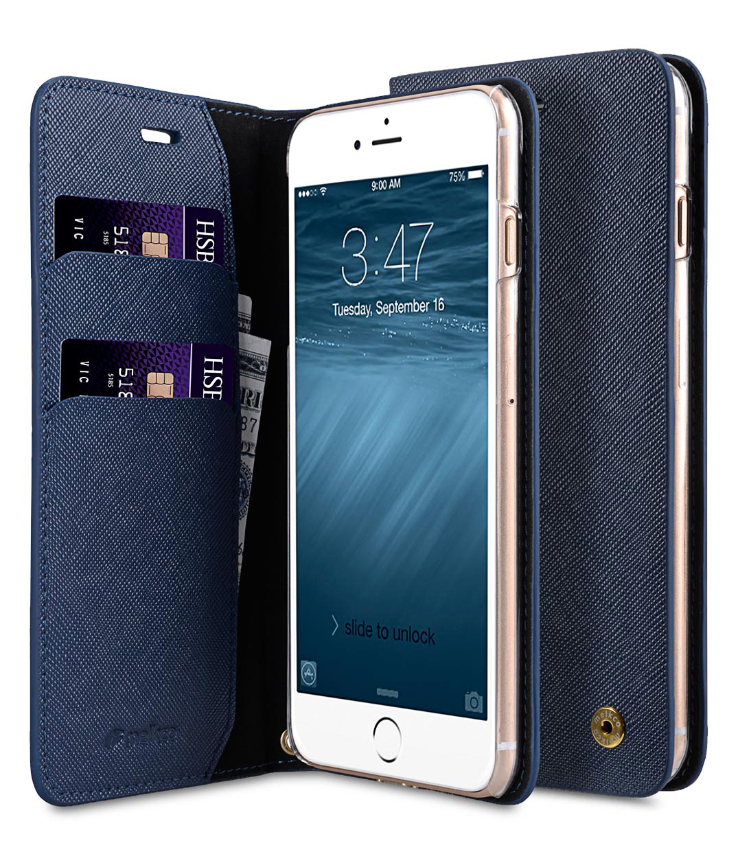 Melkco Fashion Cocktail Series slim Filp Case for Apple iPhone 7 Plus(5.5') (Navy)