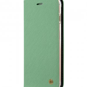 Melkco Fashion Cocktail Series slim Filp Case for Apple iPhone 7 Plus(5.5') (Light Green Cross pattern)