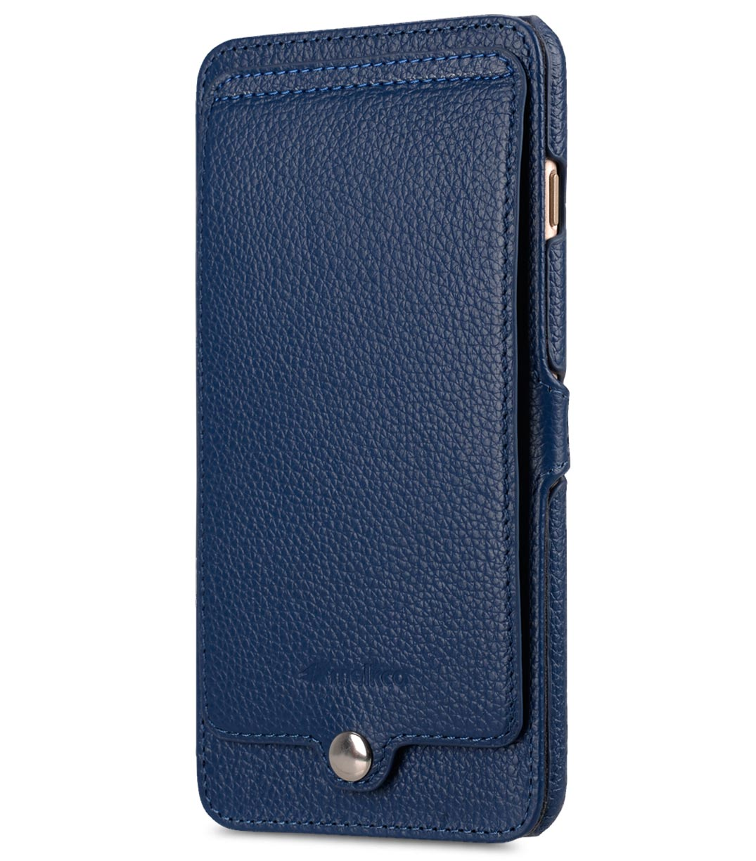 "Melkco Premium Leather Case for Apple iPhone 7 / 8 Plus(5.5"") - Booka Pocket Type (Dark Blue LC)"
