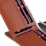 "Melkco Premium Leather Case for Apple iPhone 7 / 8 Plus(5.5"") - B-Wallet Book Type (Orange Brown)"