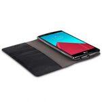 Melkco Mini PU Cases for LG Optimus G4 - Herman Series (Black PU)