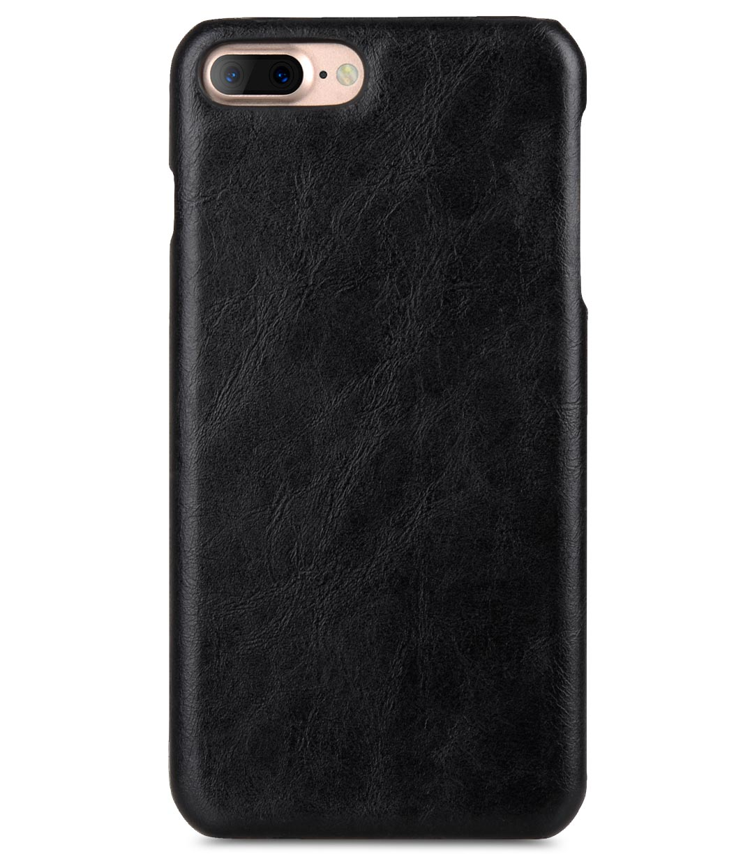 "Melkco Mini PU Leather Alphard Case for Apple iPhone 7 / 8 Plus (5.5"") - (Black PU)"