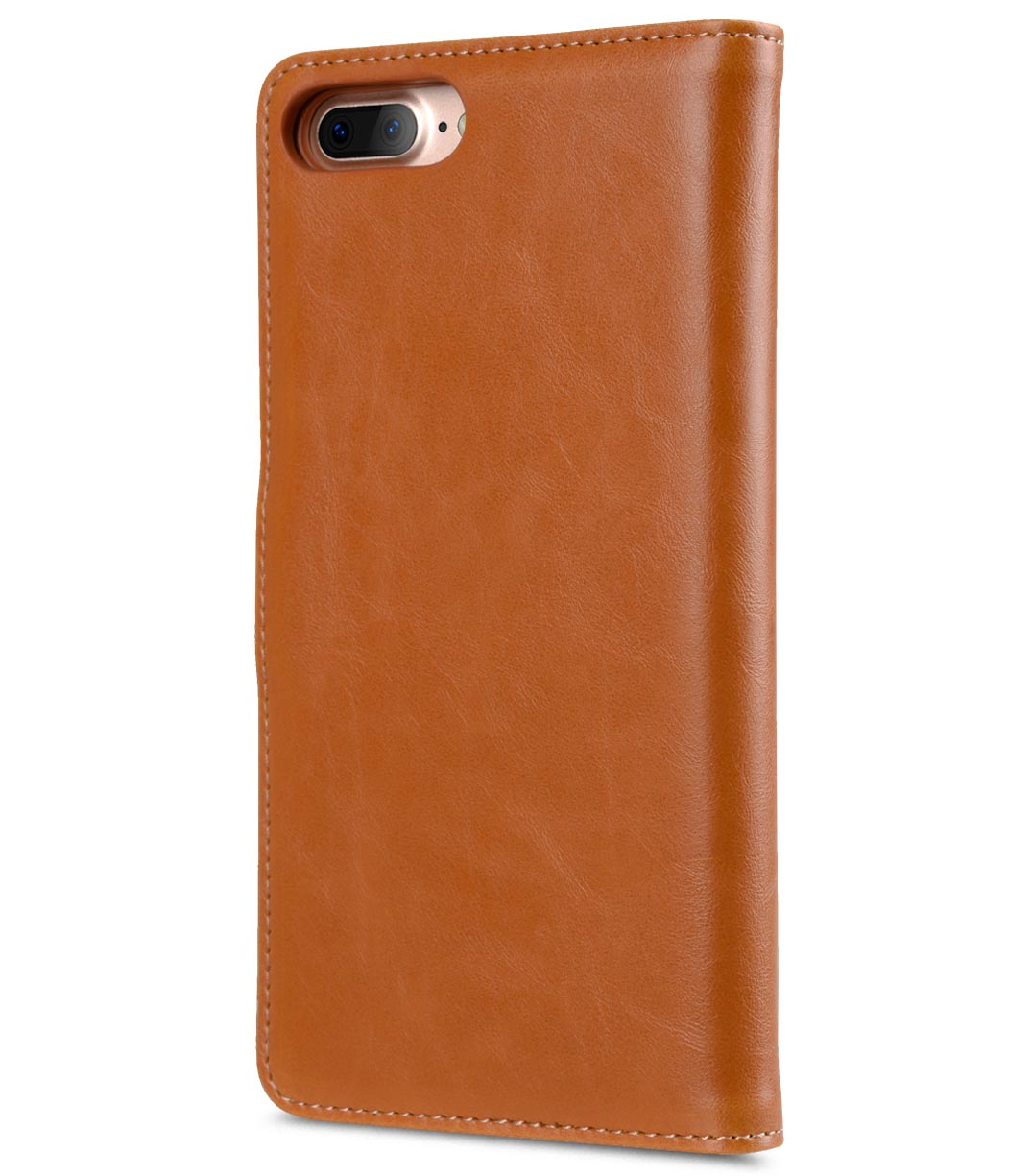 "Melkco Mini PU Leather Alphard Case for Apple iPhone 7 / 8 Plus (5.5"") - (Tan PU)"