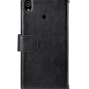 Melkco Mini PU Wallet Book Type Case for Sony Xperia Z3 - Black Split Leather