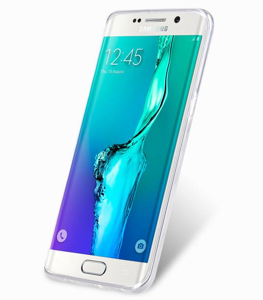 Melkco Superlim TPU Cases for Samsung Galaxy S6 Edge Plus - Transparent