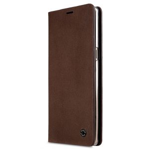 Melkco Fashion Cocktail Series Slim Flip Premium Leather Case for Samsung Galaxy Note 8 - (Italian Brown)