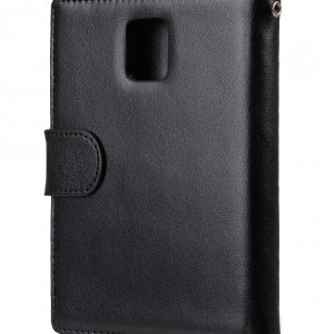 Melkco Mini PU Cases Wallet Book Type for Blackberry Passport - Black PU