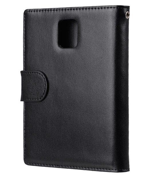 Melkco Mini PU Cases Wallet Book Type for Blackberry Passport - Black PU