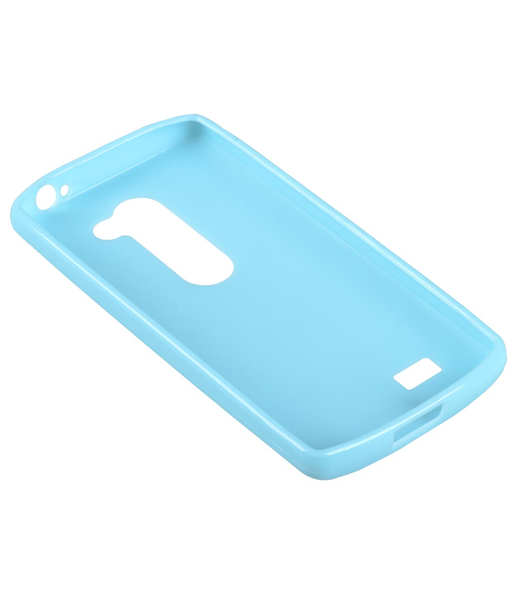 Melkco Poly Jacket TPU Cases for LG Leon - Blue