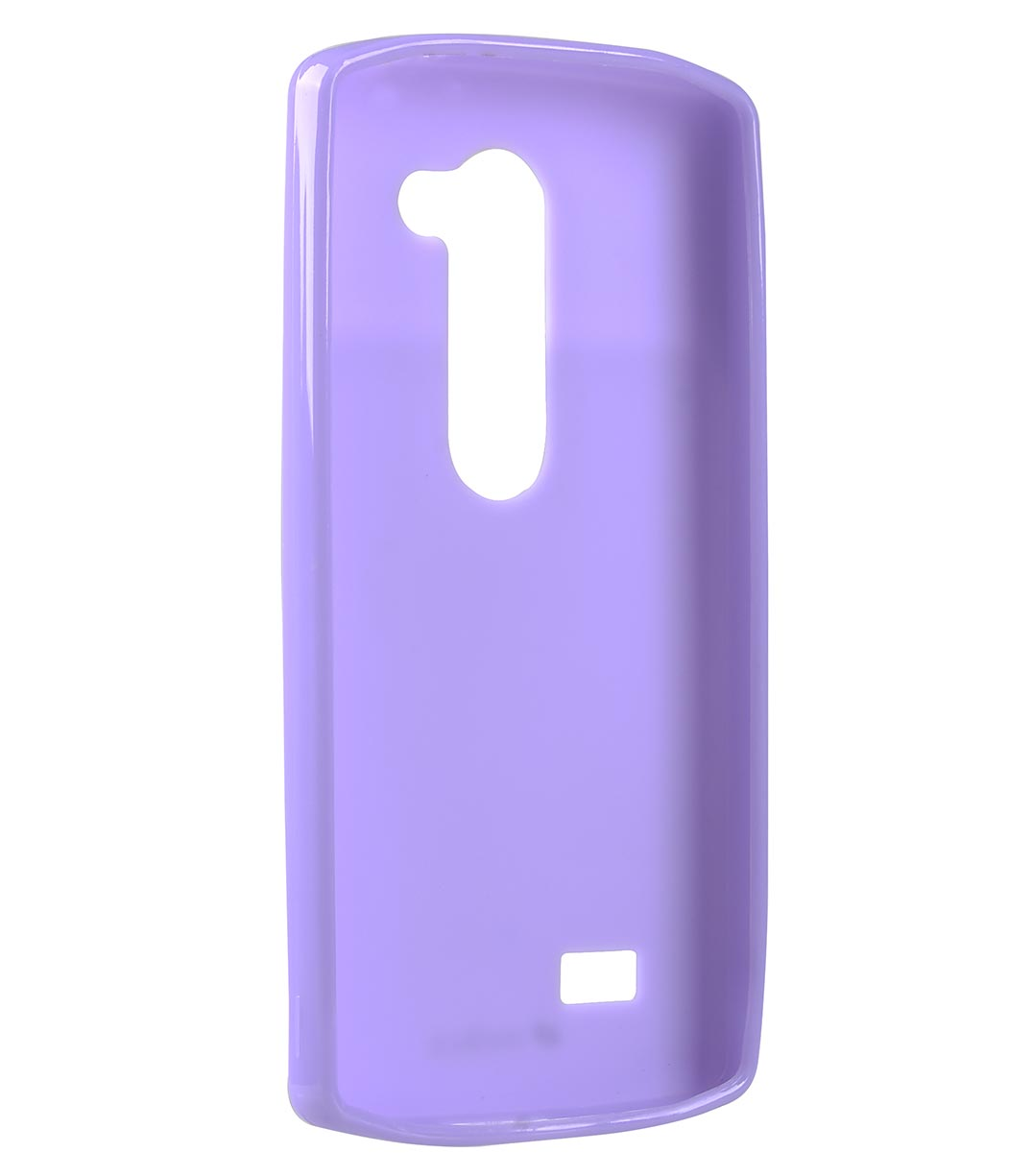 Melkco Poly Jacket TPU Cases for LG Leon - Purple