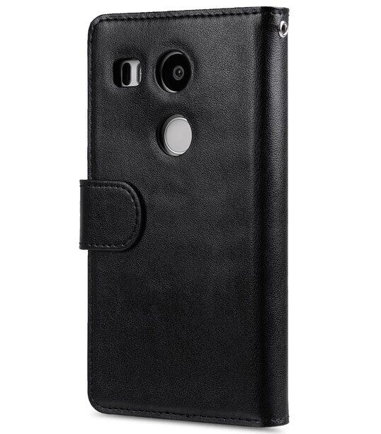 Melkco wallet book case for LG Nexus 5X - Black PU