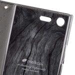 Mini PU Cases Wallet Book Clear Type for Sony Xperia XZ Premium - (Black PU)