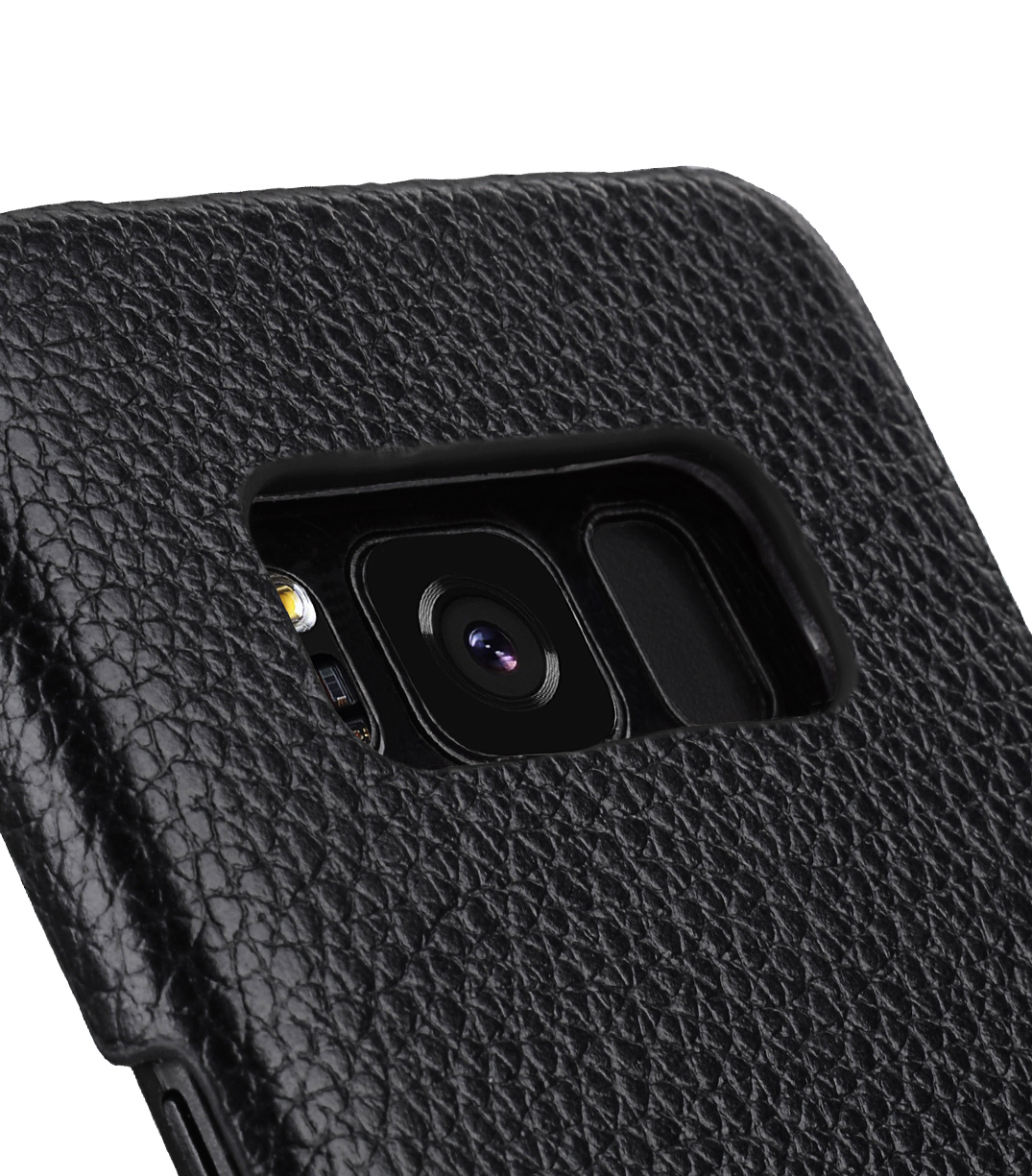 Melkco Premium Leather Card Slot Back Cover V2 for Samsung Galaxy S8 - ( Black LC )