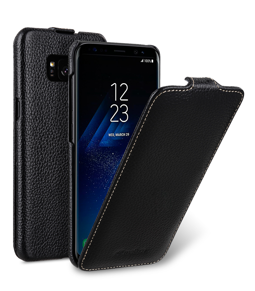 Melkco Premium Leather Case for Samsung Galaxy S8 Plus - Jacka Type