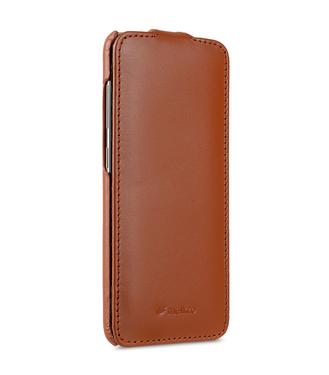 Melkco Premium Leather Case for Samsung Galaxy S8 - Jacka Type ( Brown )
