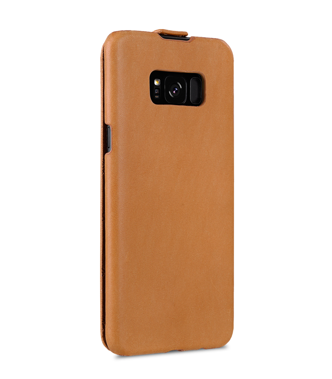 Melkco Jacka Series Premium Vegetable Leather Case for Samsung Galaxy S8 - Jacka Type ( Brown )