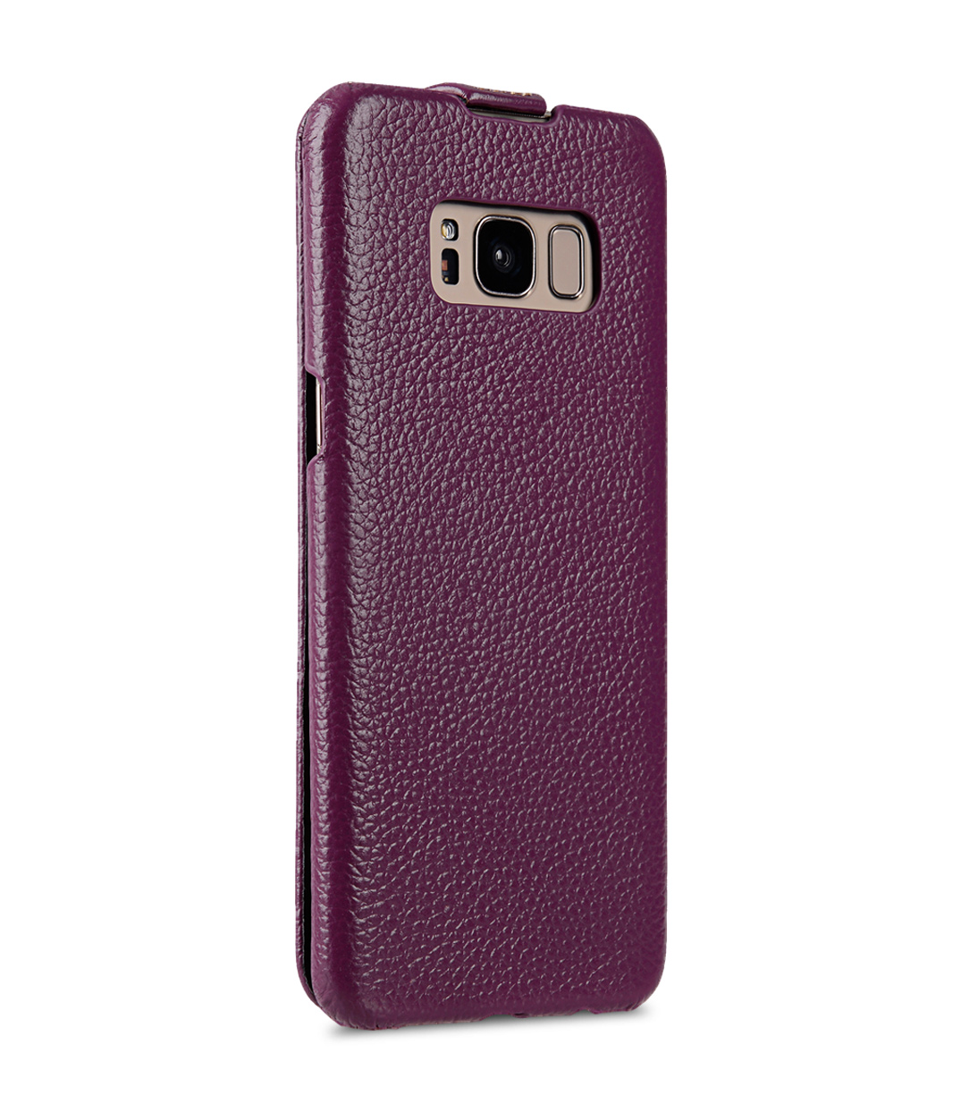 Melkco Premium Leather Case for Samsung Galaxy S8 Plus - Jacka Type ( Purple LC )