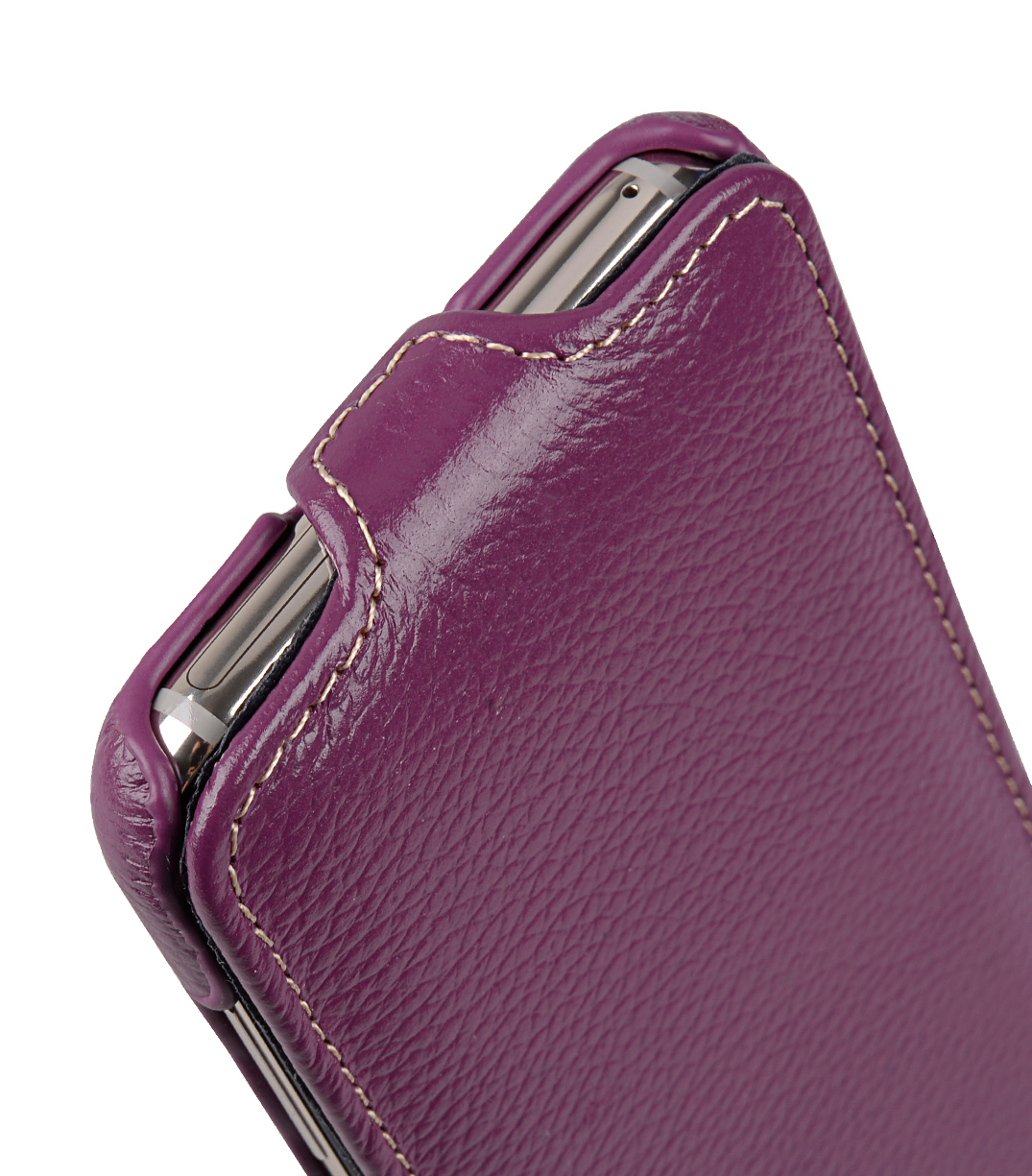 Melkco Premium Leather Case for Samsung Galaxy S8 - Jacka Type ( Purple LC )