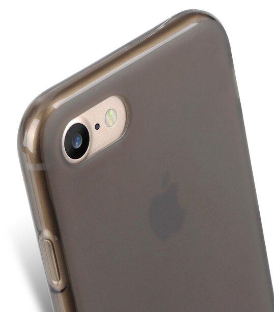 "Melkco Poly Jacket TPU Case for Apple iphone 7 / 8 (4.7"") - (Transparent Black)"