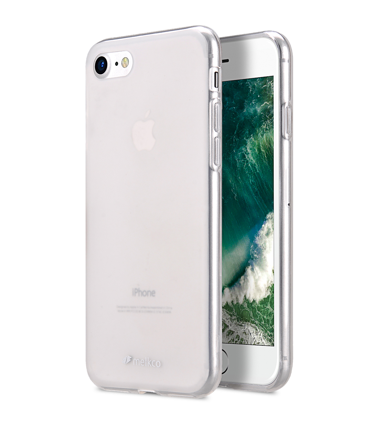 "Melkco Poly Jacket TPU Case for Apple iPhone 7 / 8 (4.7"") - Transparent Mat"