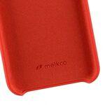 """Melkco Aqua Silicone Case for Apple iPhone 7 / 8 Plus (5.5"""") - ( Red )"""