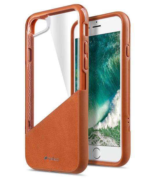 "Melkco Kubalt Series Edelman Case for iPhone 7 / 8 (4.7"")- (Brown / Brown)"