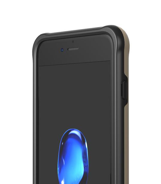 "Melkco Kubalt Series Halo Layer Case for Apple iPhone 7 / 8 Plus (5.5"") - (Gold)"