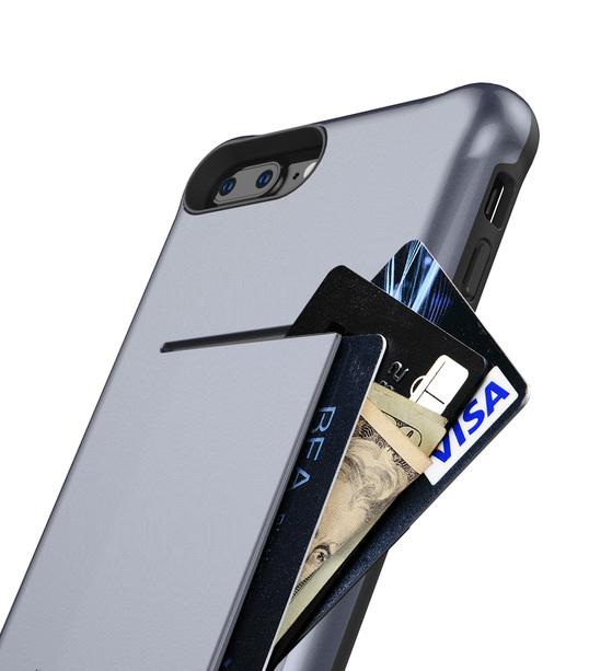 "Melkco Kubalt Series Halo Layer Case for Apple iPhone 7 / 8 Plus(5.5"") - (Grey)"
