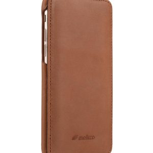 "Melkco Premium Leather Case for Apple iPhone 7 (4.7"") - Jacka Type (Classic Vintage Brown)"