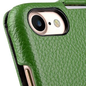 Melkco Premium Leather Case for Apple iPhone 7 - Jacka Type (Green LC)