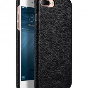 "Melkco Premium Leather Snap Cover for Apple iPhone 7 / 8 Plus(5.5"") - Black LC"
