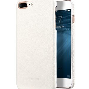 """Melkco Premium Leather Snap Cover for Apple iPhone 7 / 8 Plus(5.5"""") - White LC"""