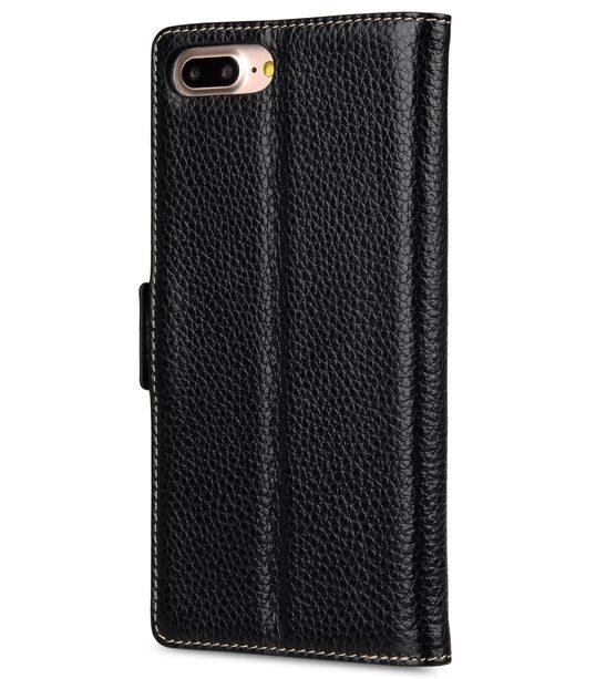 """Melkco Premium Leather Case for Apple iPhone 7 / 8 Plus (5.5"""") - Locka Type (Black LC)"""