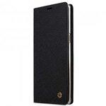 Melkco Fashion Cocktail Series Cross Pattern Premium Leather Slim Flip Type Case for Samsung Galaxy Note 8 - ( Black CP )