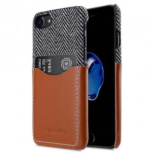 "Holmes Series Venis Genuine Leather Snap Cover with Card slot Case for Apple iPhone 7 / 8(4.7"")"