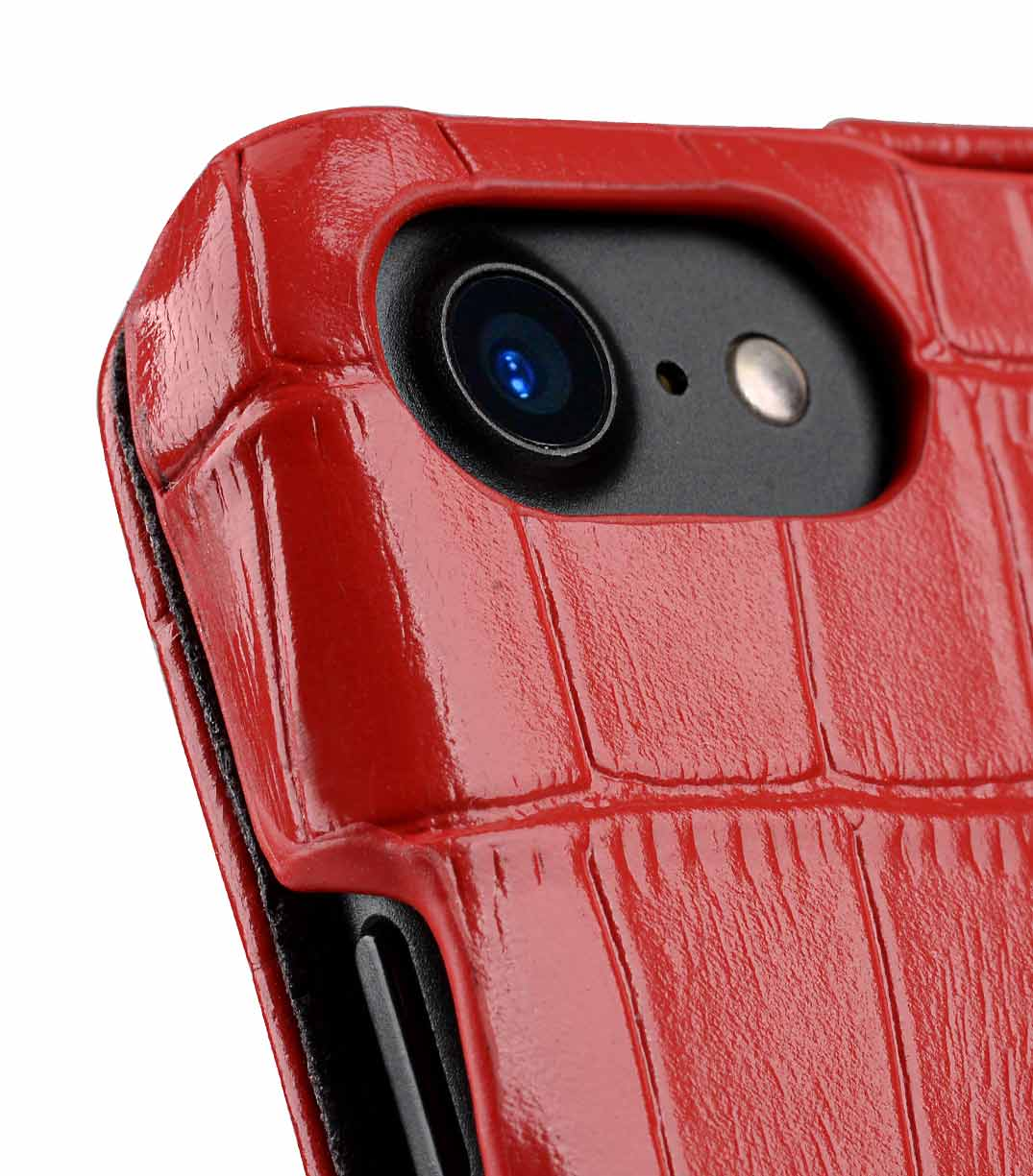 "Melkco Premium Leather Case for Apple iPhone 7 / 8 (4.7"") - Jacka Type (Red CR)"