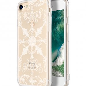 "Melkco Nation Series Arabesque 1 Pattern TPU Case for Apple iPhone 7 / 8(4.7"") - (Transprent)"