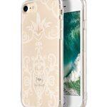 "Melkco Nation Series Arabesque 2 Pattern TPU Case for Apple iPhone 7 / 8 (4.7"") - (Transprent)"