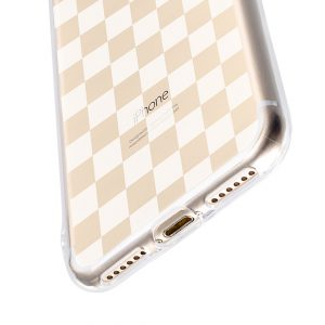 """Melkco Nation Series Check Card Pattern TPU Case for Apple iPhone 7 / 8 (4.7"""")- (Transprent)"""