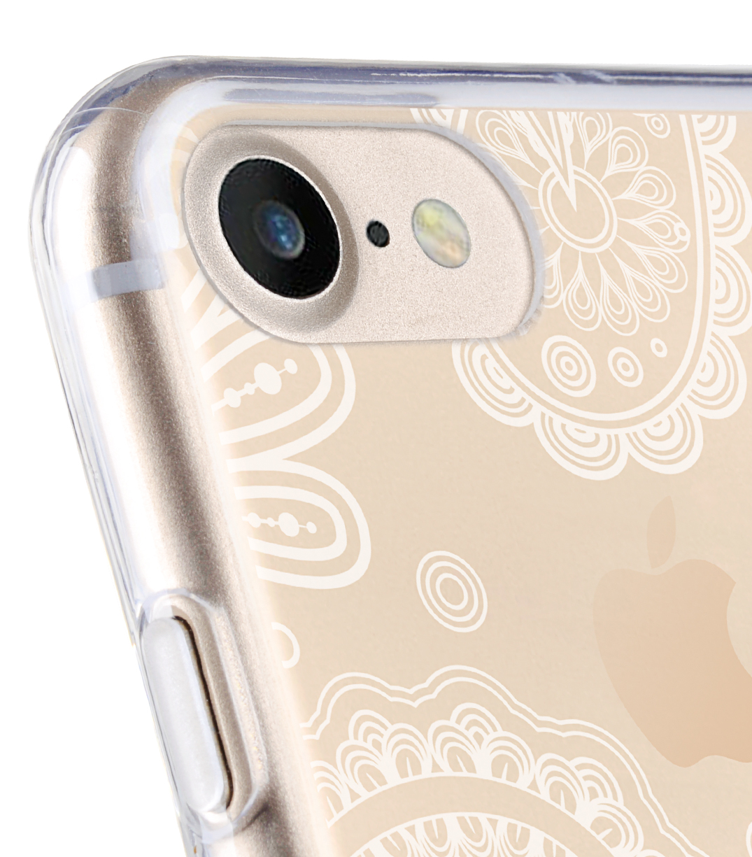 """Melkco Nation Series Paisley Pattern TPU Case for Apple iPhone 7 / 8 (4.7"""") - (Transprent)"""
