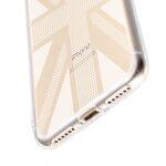 "Melkco Nation Series Union Jack Pattern TPU Case for Apple iPhone 7 / 8(4.7"")- (Transprent)"