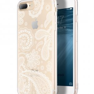 Melkco Nation Series Arabesque 2 Pattern TPU Case for Apple iPhone 7 / 8 Plus - (Transprent)