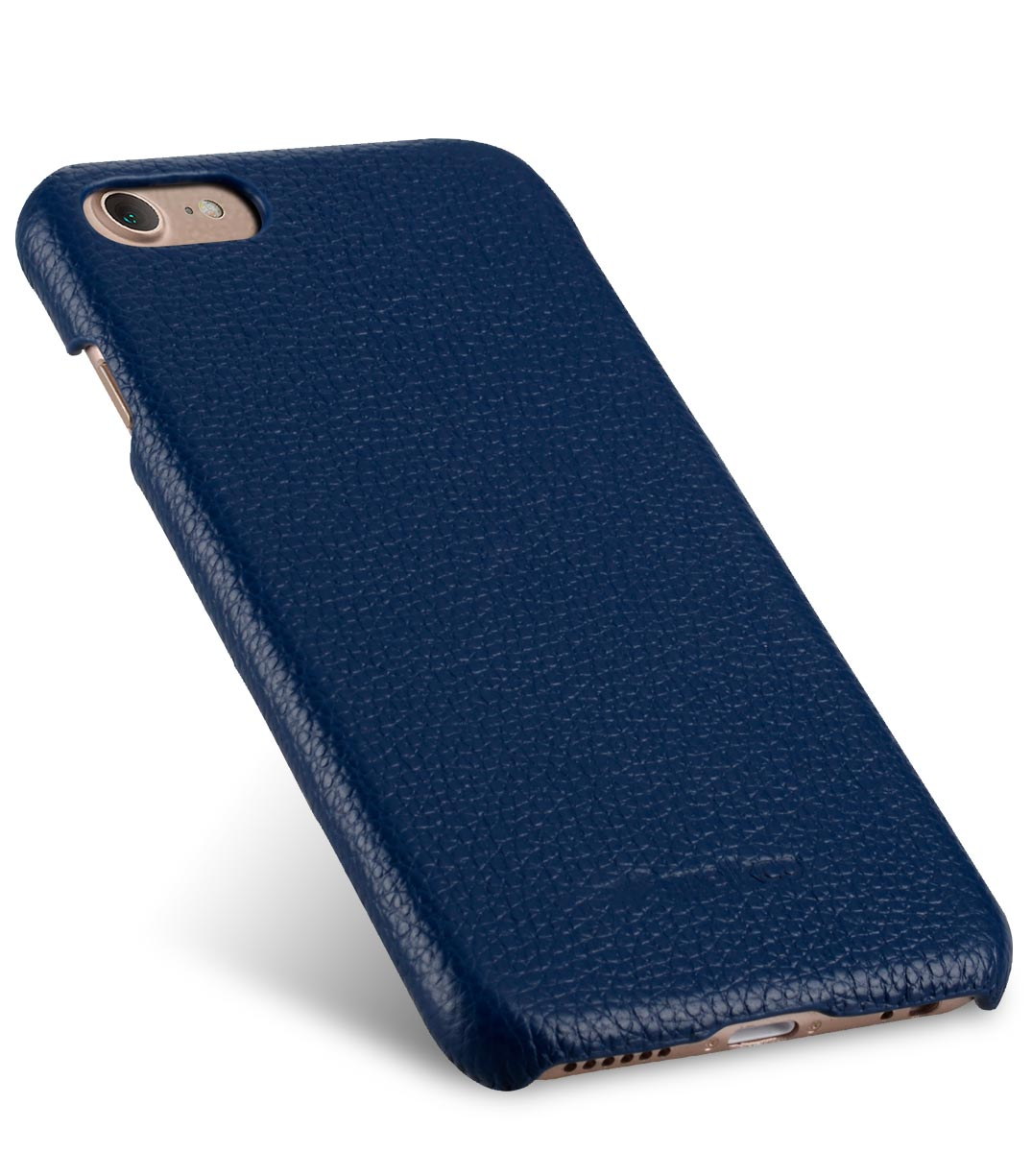 """Melkco Premium Leather Snap Cover for Apple iPhone 7 / 8 (4.7"""")- Dark Blue LC"""