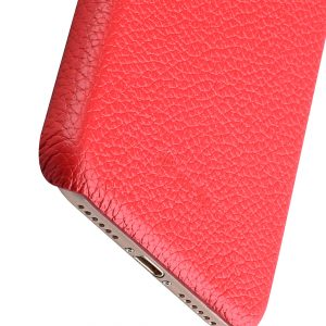 """Melkco Premium Leather Snap Cover for Apple iPhone 7 / 8 (4.7"""")- Red LC"""